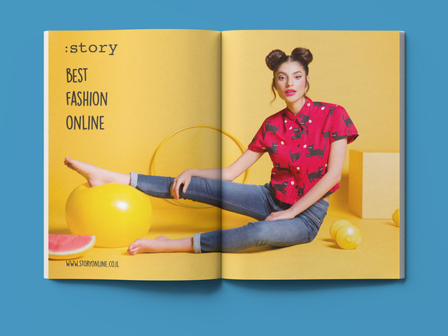 Story Online 2015 | Printed Ad Design