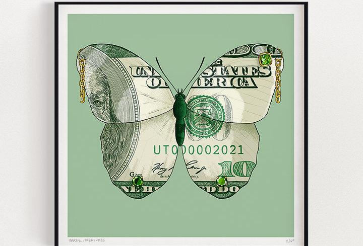 Cash  | Fine Art Print