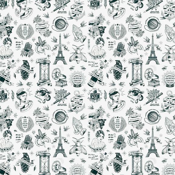 Tattoo Wallpaper Remix Hotel Paris