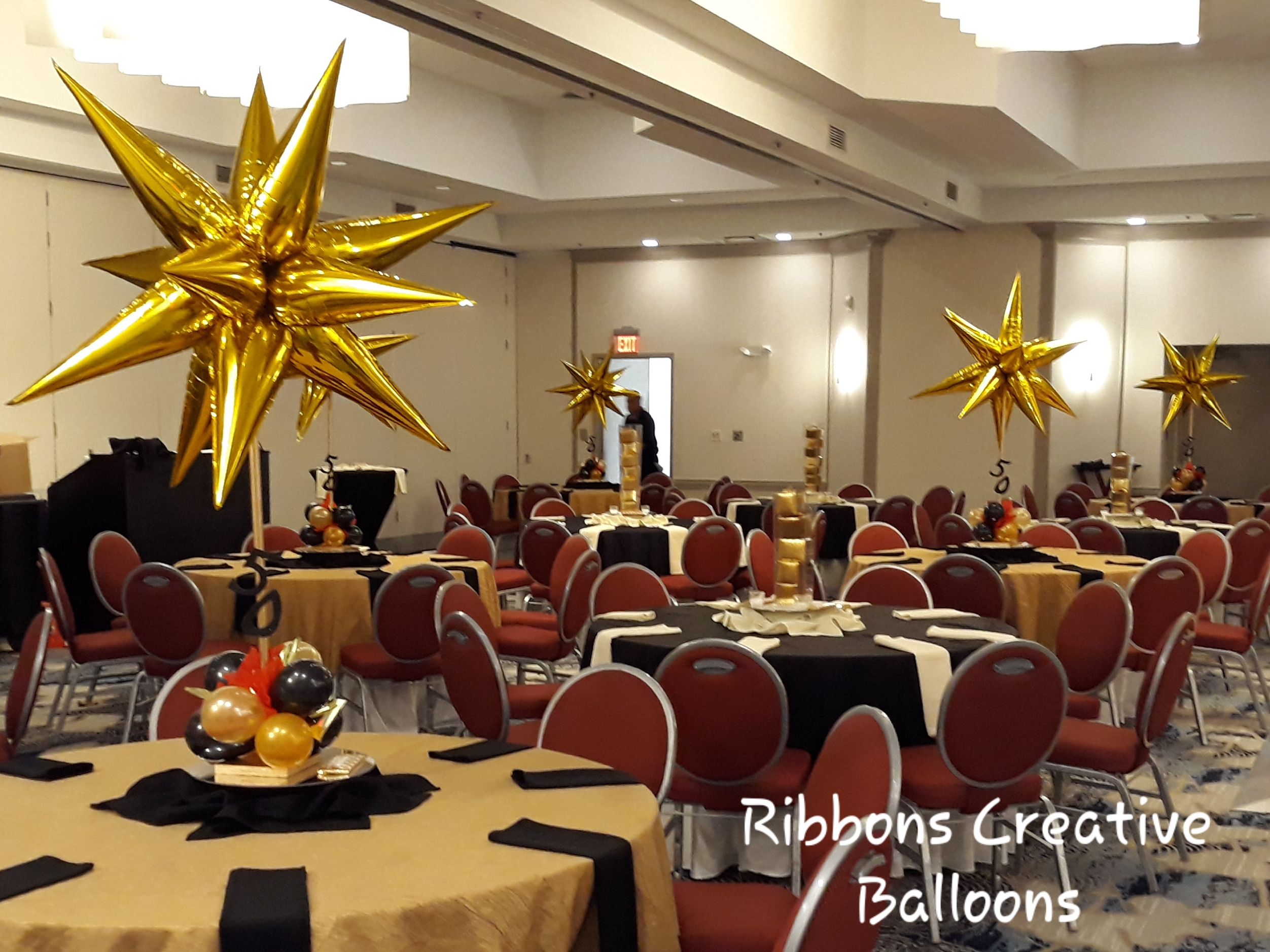 Starburst Balloon Centerpiece