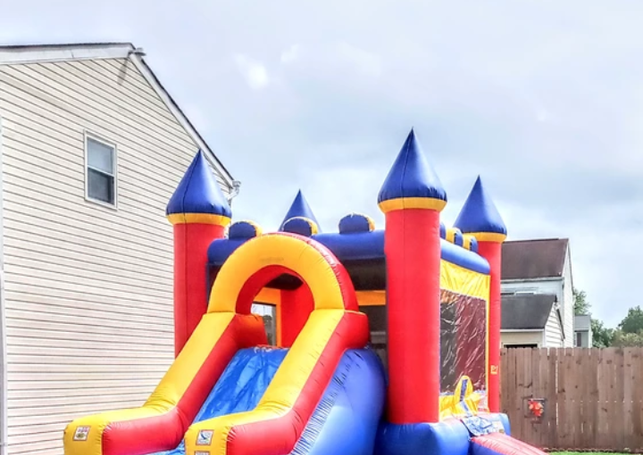 Combo With Slide (Wet or Dry) - 13 x 32 x 15 - $250.00