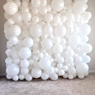 8x8 ft White Wall