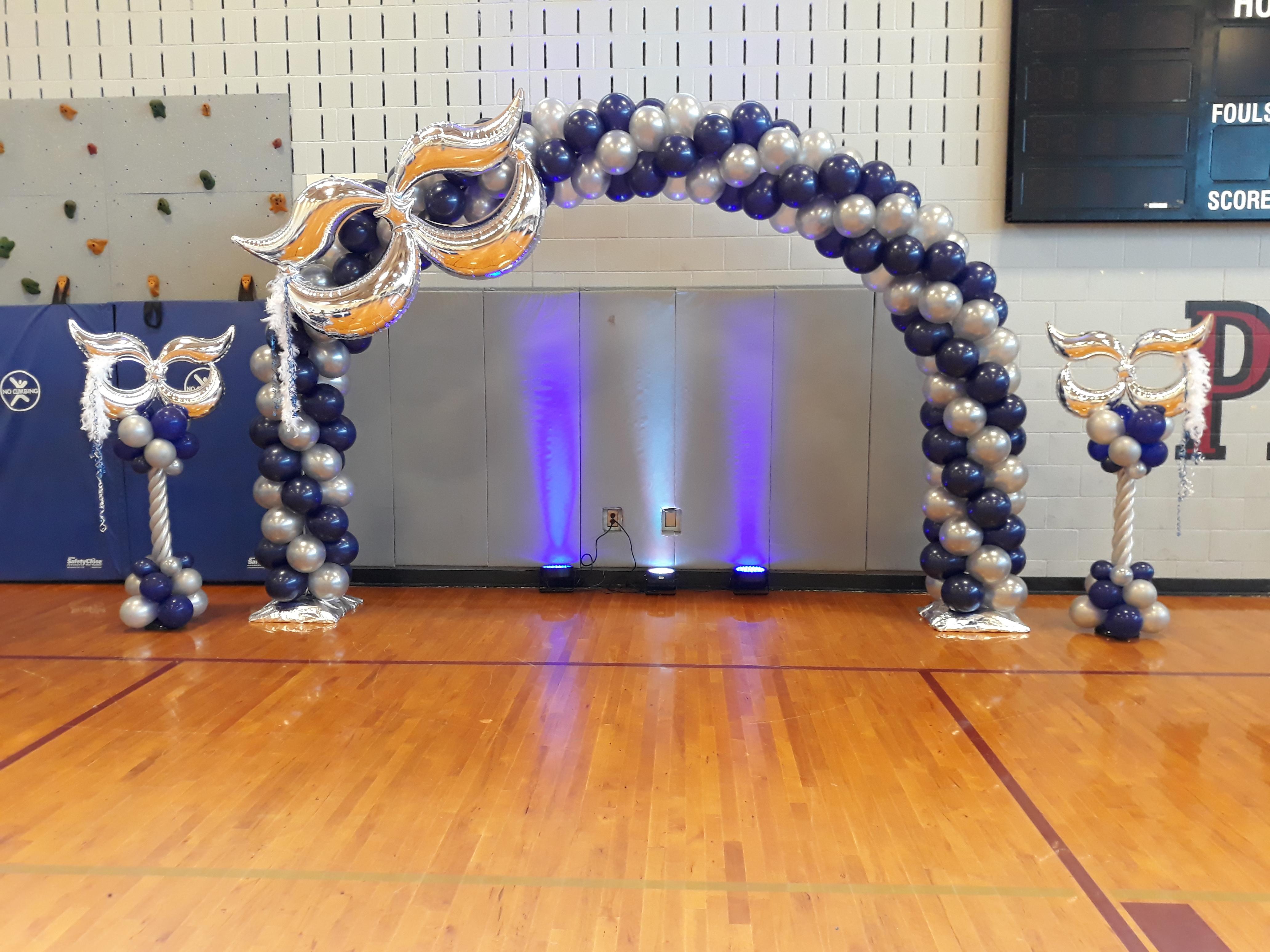 Masquerade Spiral Arch