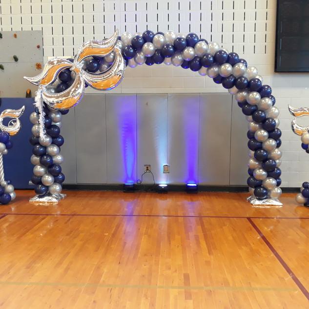10 ft -Mardi Gras Arch