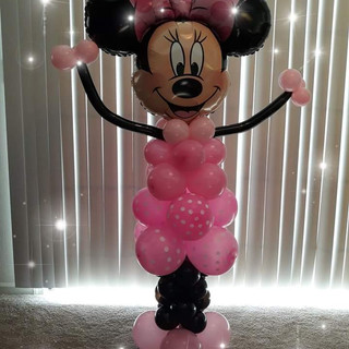 4 ft Minnie Mouse