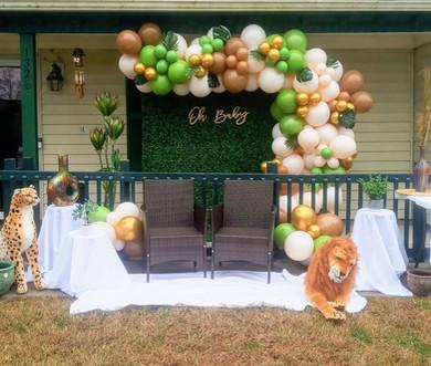 Safari Balloon Garland