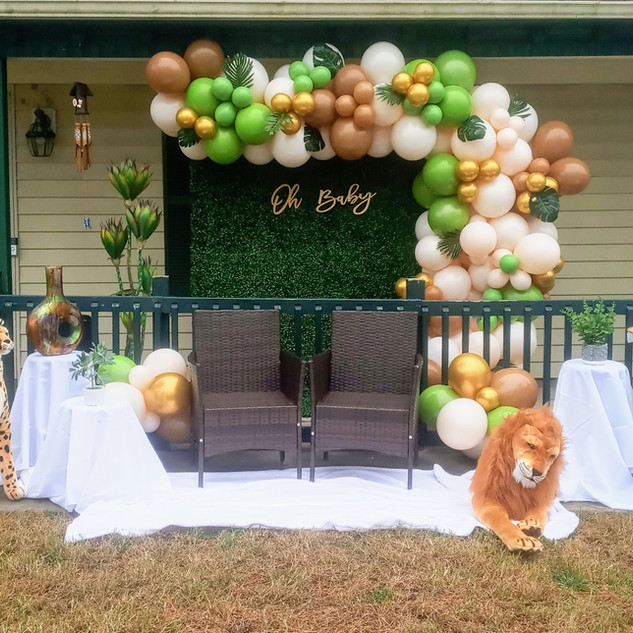 Safari Balloon Garland