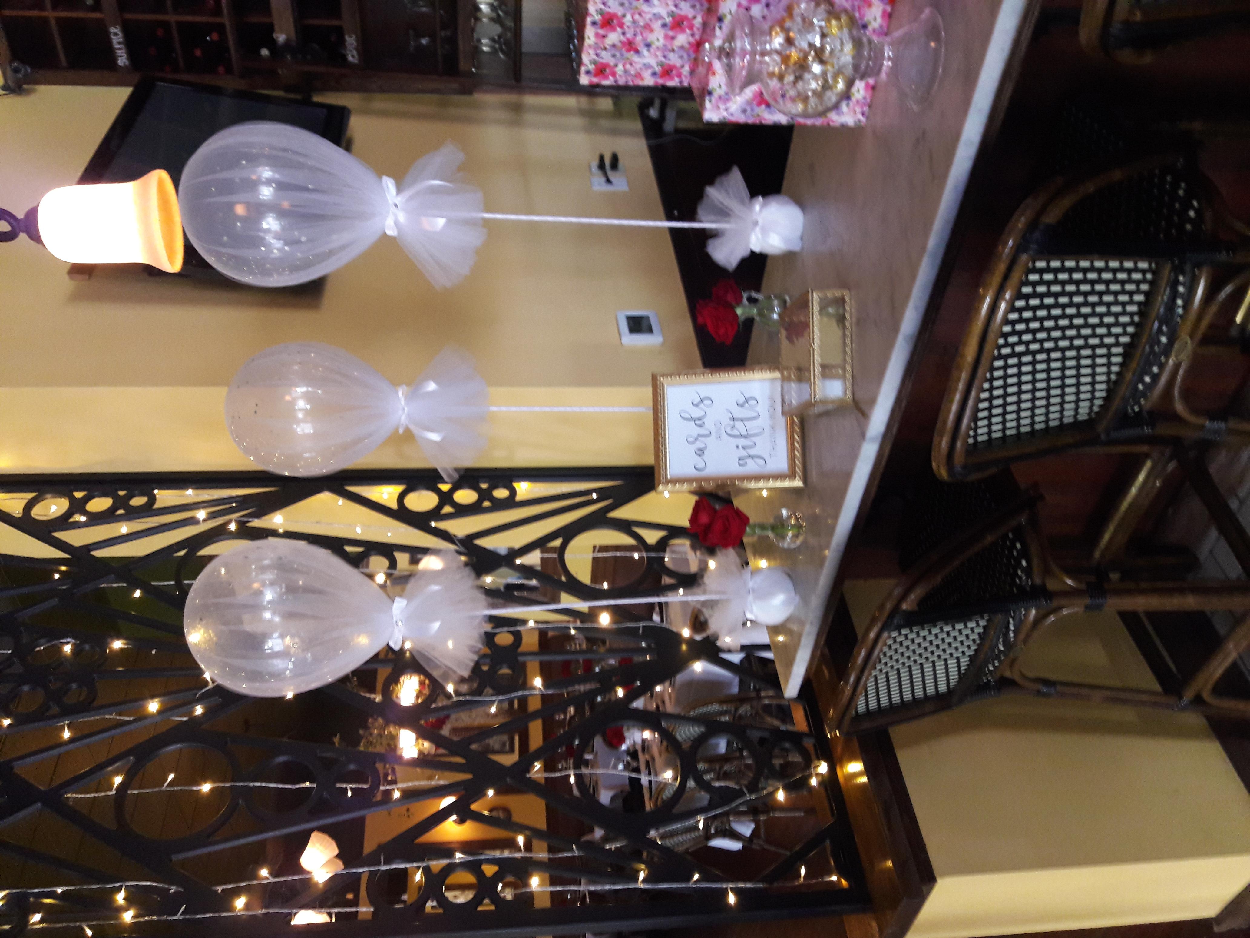 Tulle Glitter Balloons