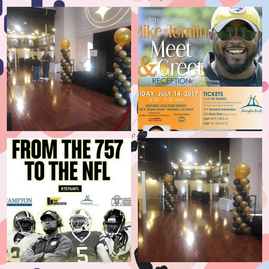 Mike Tomlin Meet & Greet Reception