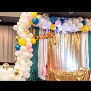 25 ft Organic Balloon Garland