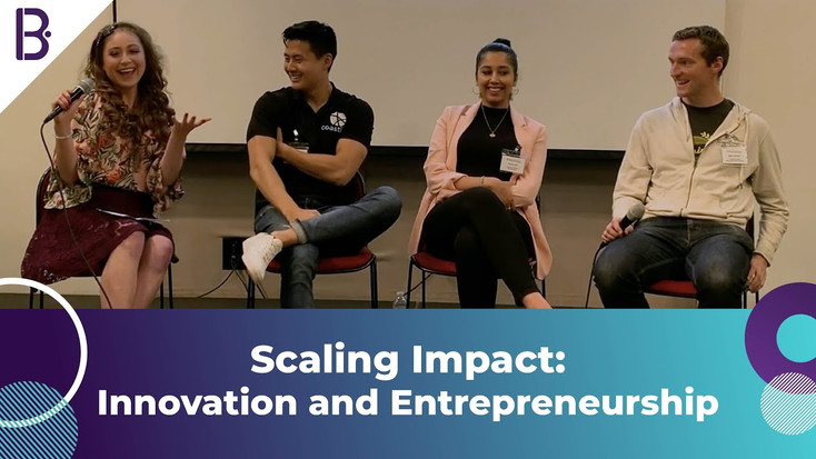 Susgrainable at Bridging the Gap's Scaling Impact: Innovation and Entrepreneurship