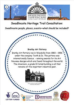 Swadlincote Townscape Heritage