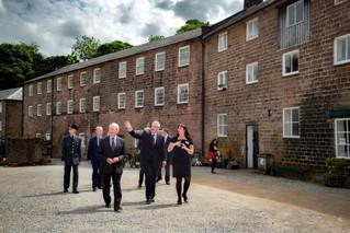 Iconic Derbyshire Building Receives Royal Visit