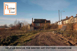 Housing cash could help save historic Bretby Pottery