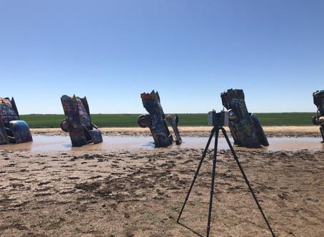 Scanning Cadillac Ranch