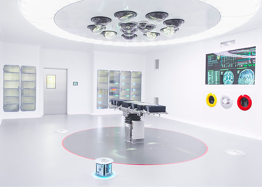 Surgical operating room and medical devices