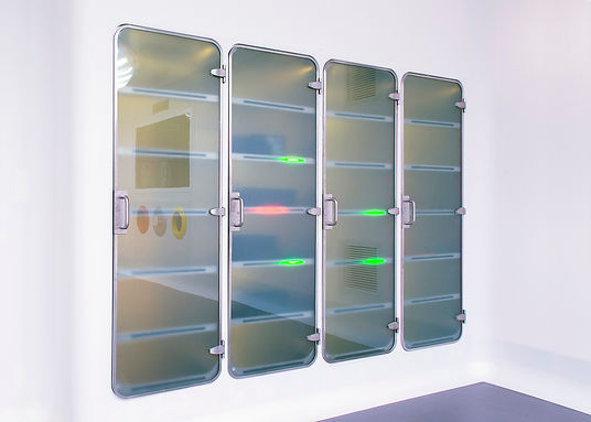 Medical device; RFID enabled surgical supply cabinets