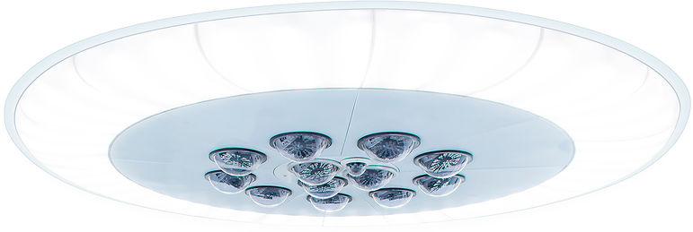 Integrated Plenum; surgical lighting; HVAC; ambient lighting