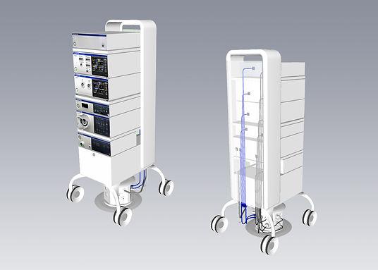 Medical device; endoscopy cart