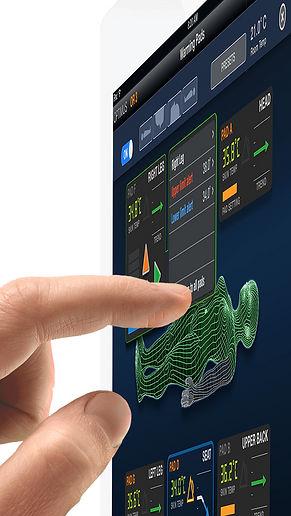 User interface touchscreen