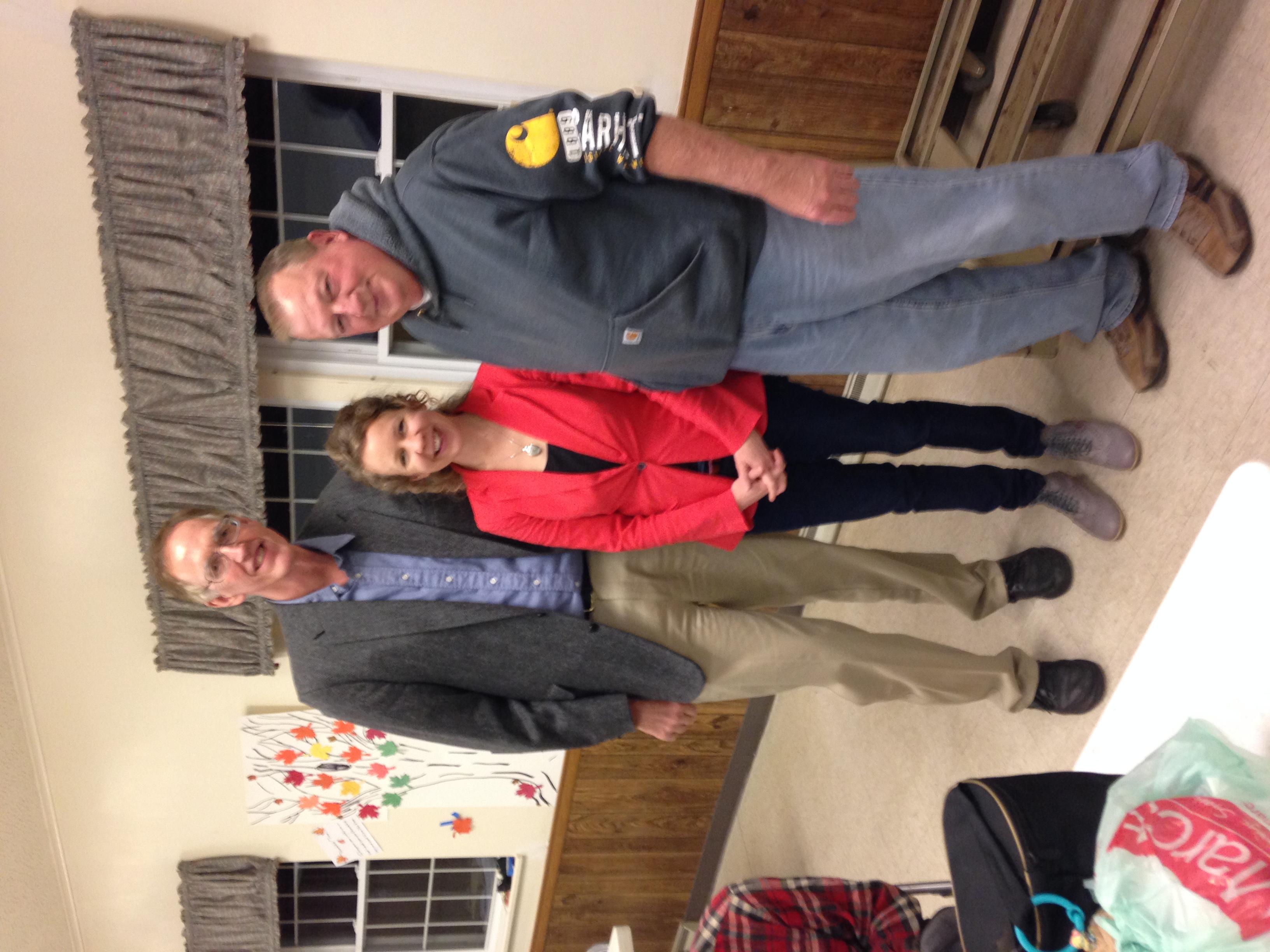 Pastor Bob, Laura, and Brian
