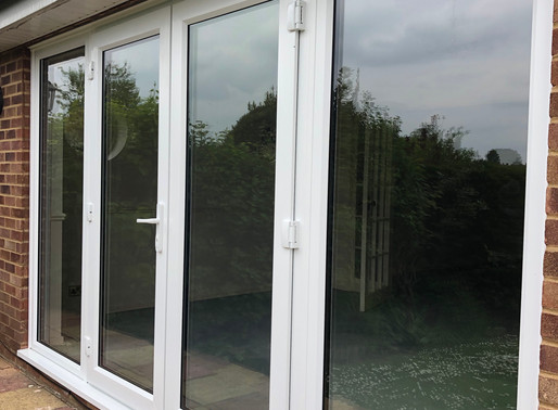 Secure by Design French Doors and sidelights