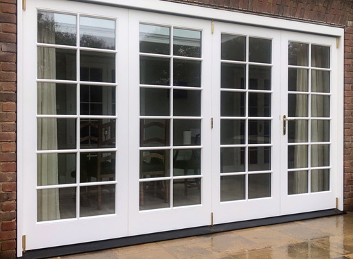 #Timber bi-folding doors#Sevenoaks