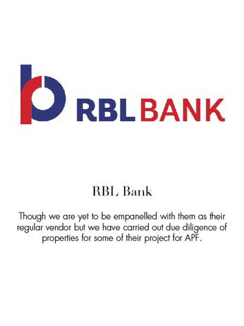 rbl bank ltd
