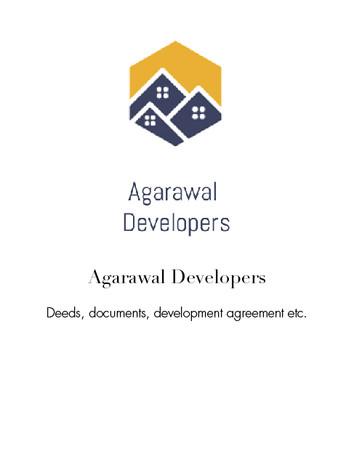 Agarwal Deveopers
