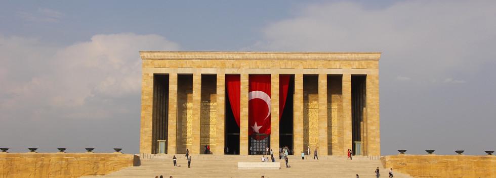 Ankara - Mausoleo de Ataturk