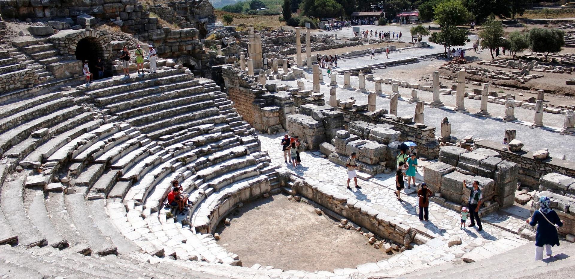 Efeso - Teatro Antiguo