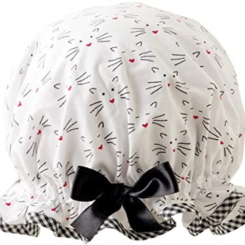 DILLY DAYDREAM CAT WHISKERS SHOWER CAP