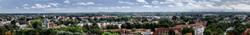 Blick vom Schloss Dachau nach Süden