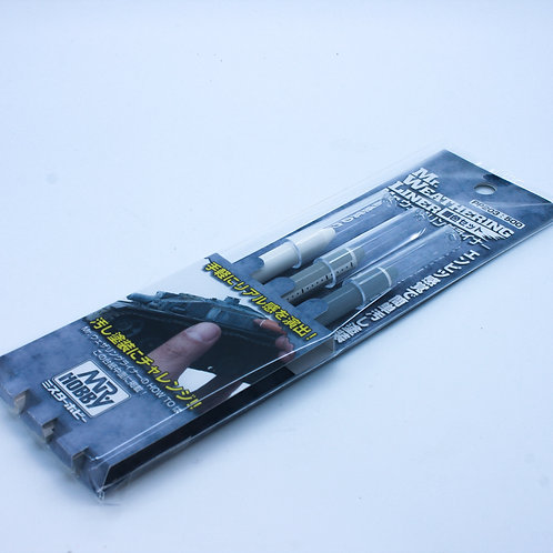 Mr Weathering Liner Snow Colour Set