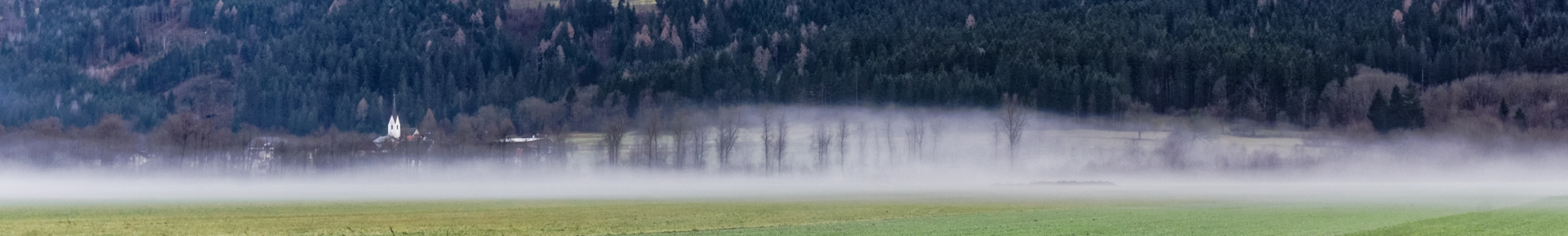 Meine Frau liebt Nebelbilder...
