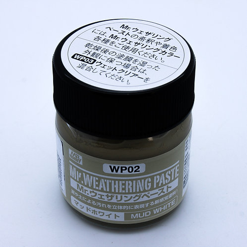 Weathering Paste Mud White – 40ml