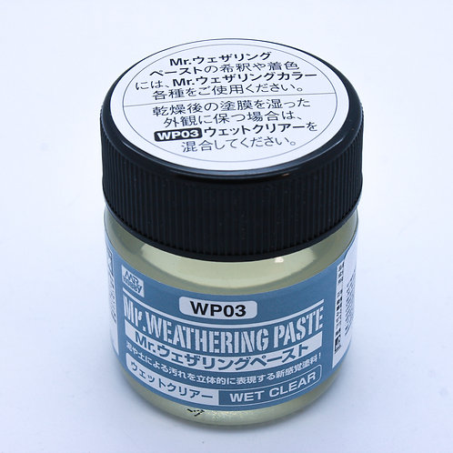 Weathering Paste Wet Clear – 40ml