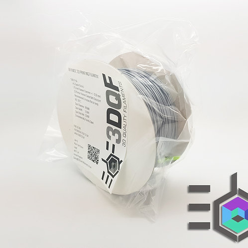 Midnight Silver 1.75 mm UK Made 3D Printer Filament