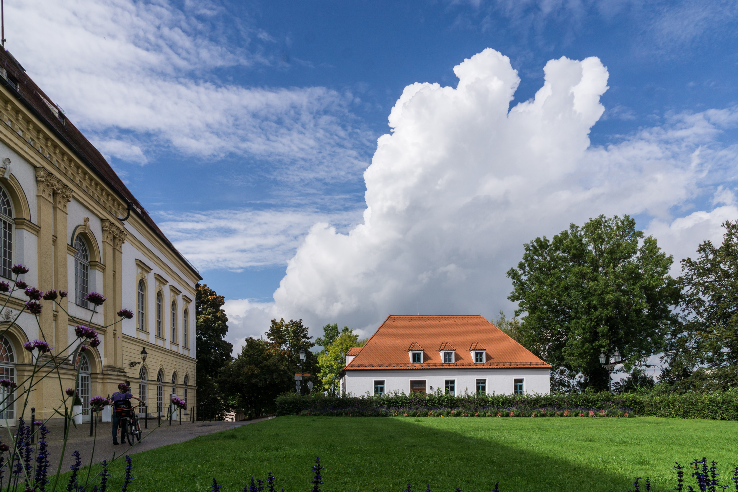 Schloss und Amtsgericht Dachau