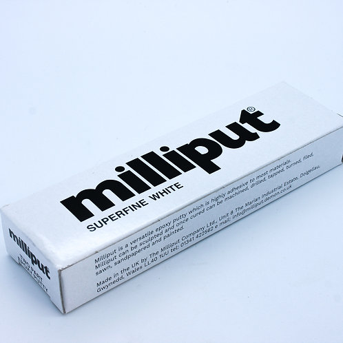 Milliput Superfine white Model Filler Epoxy