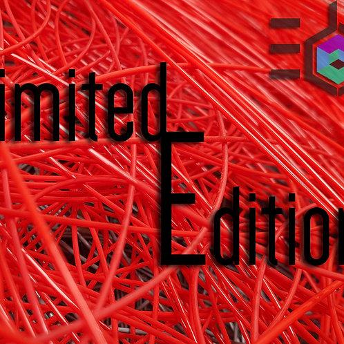 Limited Edition Fire Orange 1.75 UK Made 3D Printer Filament
