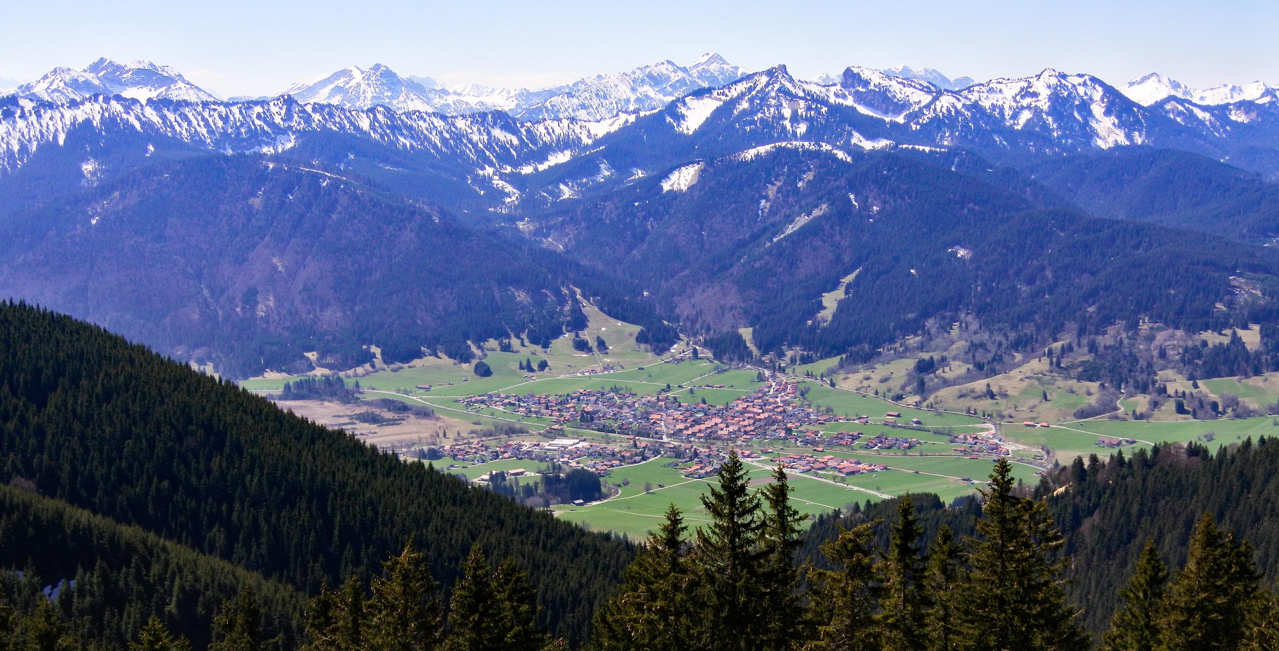 Unterammergau vom Hörnle