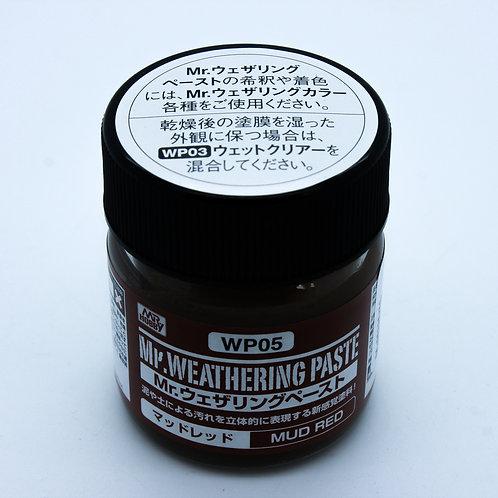 Weathering Paste Mud Red – 40ml