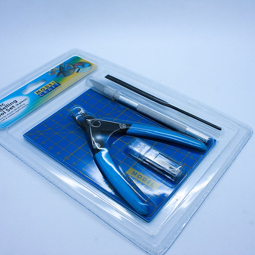 9 PC PLASTIC MODELLING TOOL KIT
