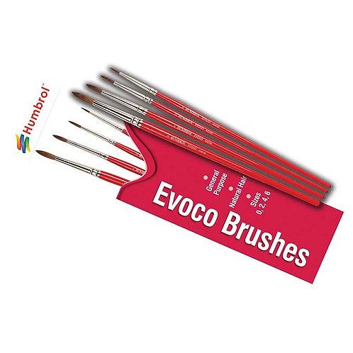 EVOCO MIXED BRUSH PACK 0/2/4/6