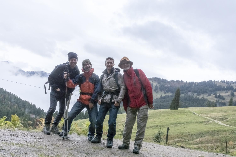 Die Wanderteilnehmer