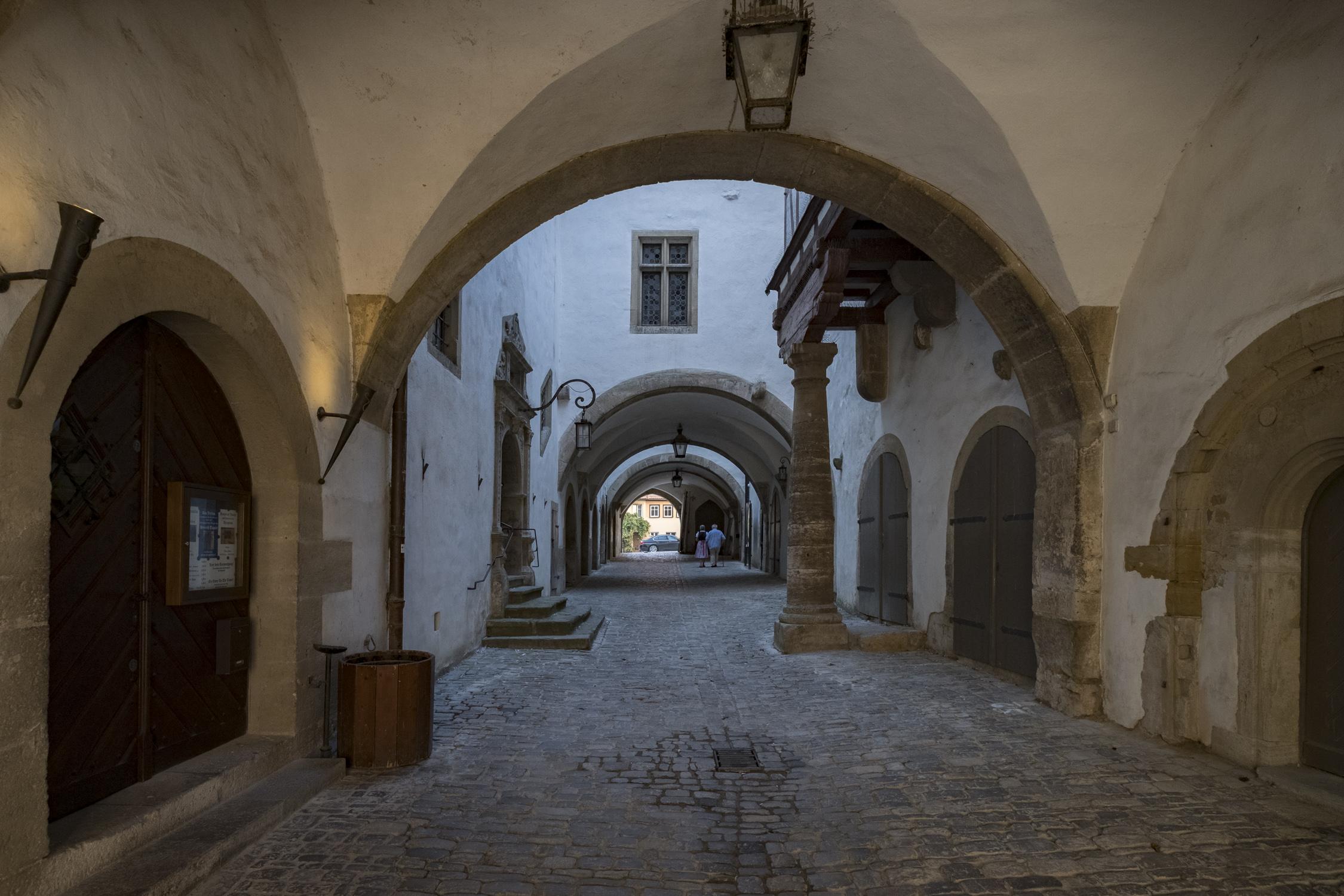 Historiengewölbe im Rathaustrakt