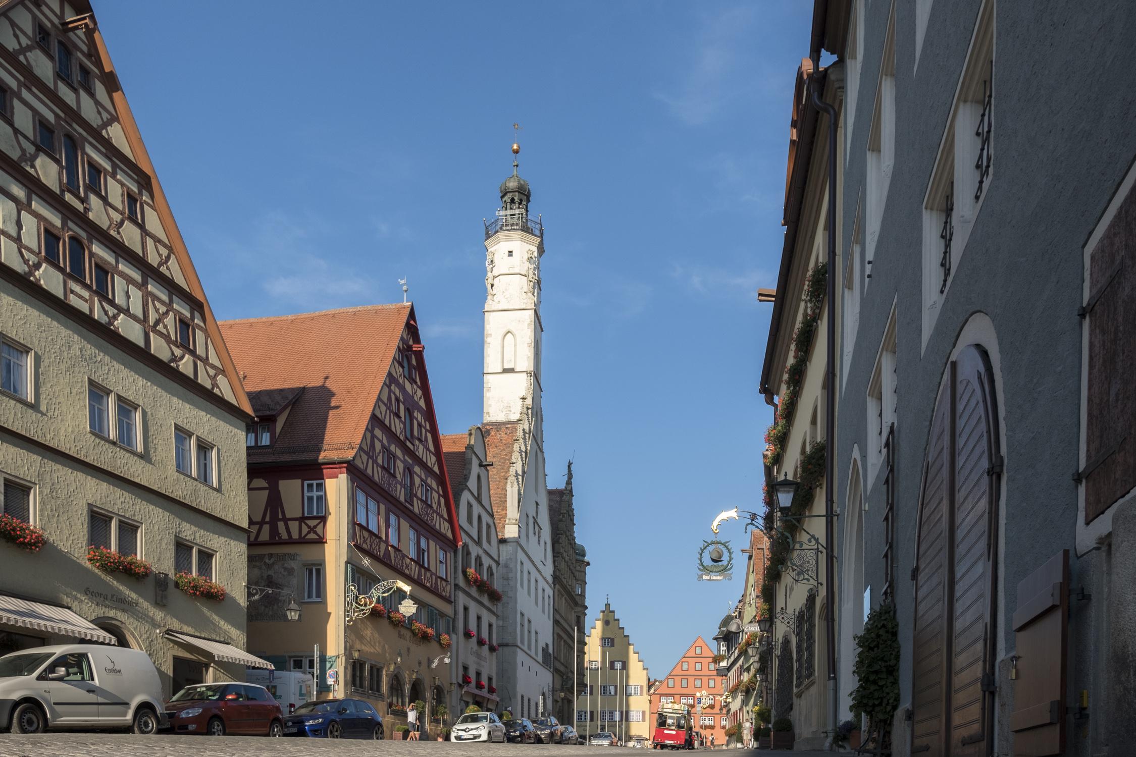 Herrngasse Richtung Marktplatz