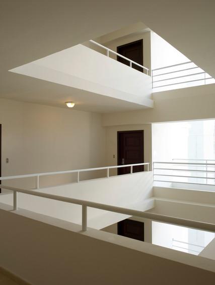 Weiße Treppen