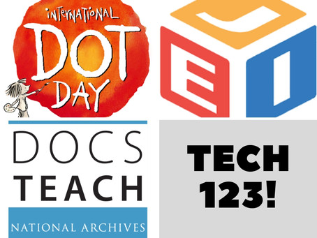 Dot Day, Journal of Emerging Investigators, and DocsTeach